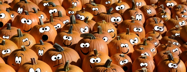 Blog Post Picture 10.31.19 pumpkins with eyes