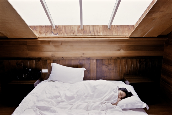 Blog Post Picture 11.2.19 Woman Sleeping on a Cozy Bed